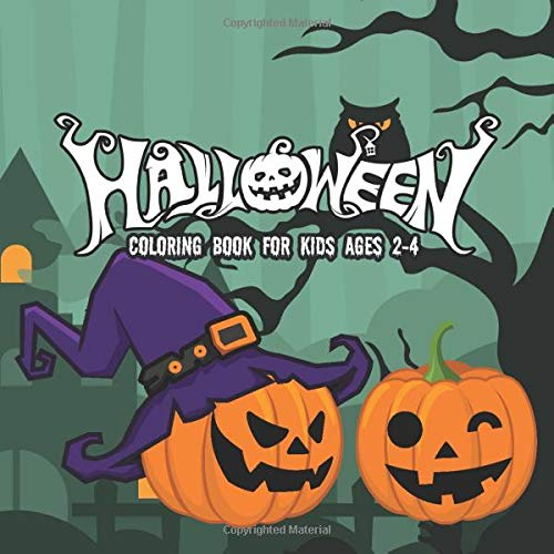 Amazon.com: Halloween Coloring Books For Kids Ages 2-4: A Spooky Coloring  Book For Creative Children Pumpkins Design (halloween Coloring Pages For  Kids) (9781700653970): Coloring Book, Harry: Books
