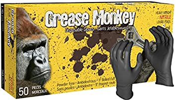 Grease Monkey 8 Mil Nitrile Gloves Watson Gloves