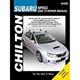 Subaru Impreza & Wrx Automotive Repair Manual: 2002 to 14