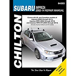 subaru impreza wrx automotive repair manual 2002 to 14 haynes rh amazon com 2010 subaru wrx sti service manual Subaru WRX Wagon