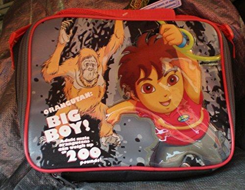 Nickelodeon Lunch Bag - Go Diego Go - Diego w/ Monkey New - Diego New Go