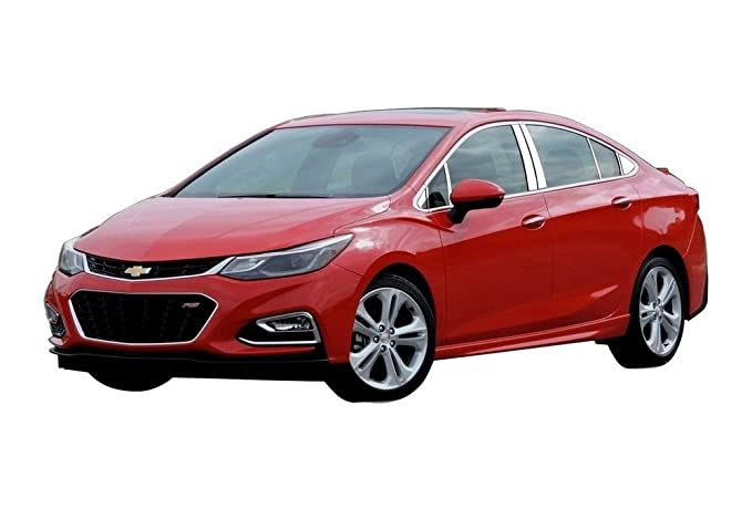Cruze 2016 - 2018 Chevrolet (4 pc: Pilar de acero inoxidable Post Trim Kit, 4 puertas) pp56145: QAA: Amazon.es: Coche y moto