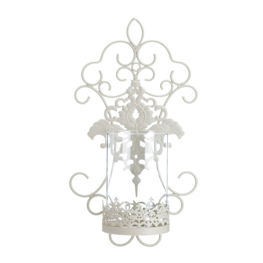 Wall Candle Sconces, Decorative Indoor Modern Romantic Metal Wall Sconces Holder (Sold by Case, Pack of 6)