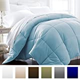 Beckham Hotel Collection 1200 Series - Lightweight - Luxury Goose Down Alternative Comforter - Hotel Quality Comforter and Hypoallergenic - King/Cal King - Sky Blue