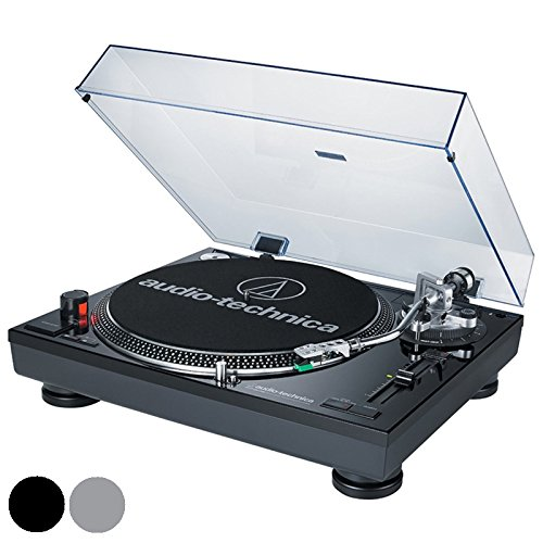 Audio-Technica-USB Direct-Drive Professional Turntable in Silver