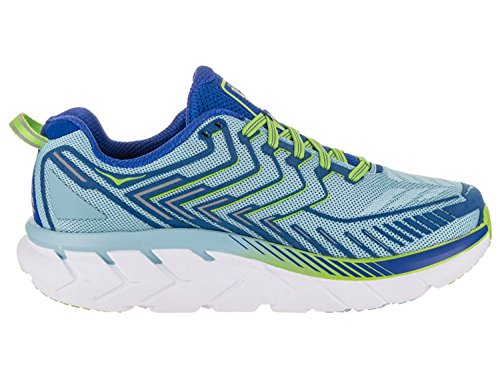 Hoka One One Mujeres Clifton 4 Sky / Blue / Surf / The / Web Running Shoe 10 Mujeres Ee. Uu.