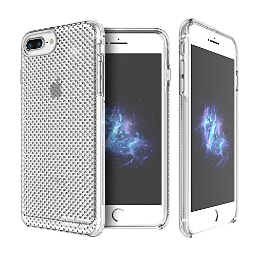 "Prodigee [Breeze] Clear Claro transparente Apple iPhone 7 Plus & iPhone 6 / 6s Plus 5.5"" Cell phone Case Cas, de protection flexible, durable, absorption des chocs, étui de protection, couverture de t"