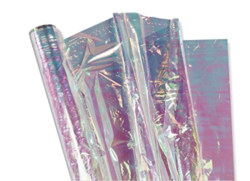 Pacon Iridescent Film, Mother of Pearl, 36