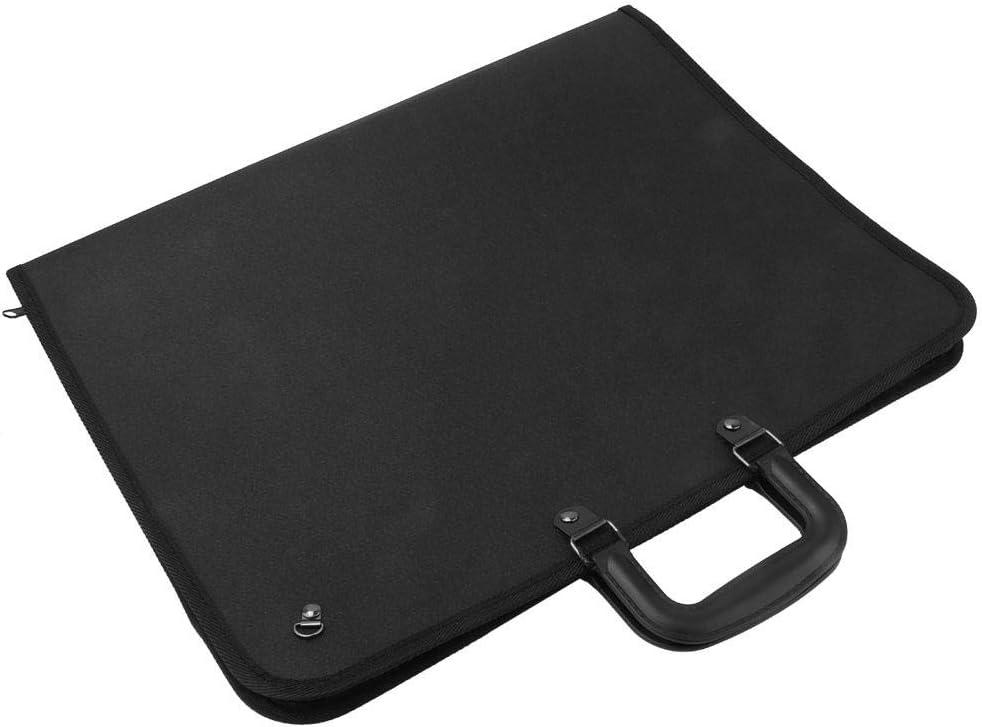 Painting Board Bag PVC Portable Art Portfolio Case Bag A3 Drawing Sketch Board Storage File Bag Document Carry Case Artist Portfolios Case