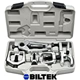 Biltek® 6pc Front End Service Tool Kit Ball Joint Separator Pitman Arm Tie Rod Puller