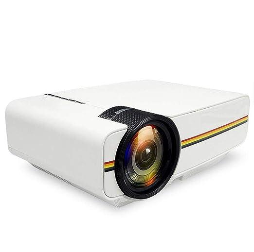 MYYDD Proyector, proyector de Cine en casa DLP Micro proyector ...