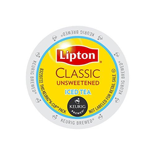 Lipton Classic Unsweetened Iced Tea K-cups 96ct (Ice Pod Black)