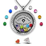 Niece Gifts From Aunt Gift For Graduation Gifts For Women Floating Locket Necklace Girls Graduation Gift Niece Jewelry Gifts For Niece From Aunt Niece Necklace | Charm Necklace Graduation Present