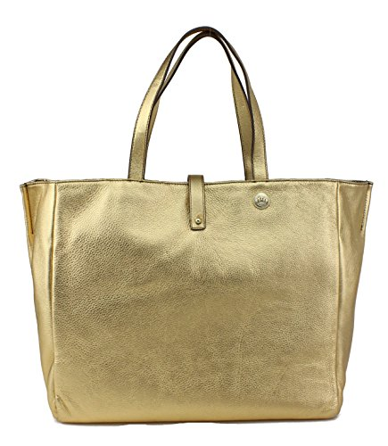 Juicy Couture Hollywood Hills Reversible Tote Bag, Gold And Python
