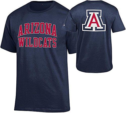 Arizona Wildcats T-shirts (Arizona Wildcats TShirt Back Navy - XXL)