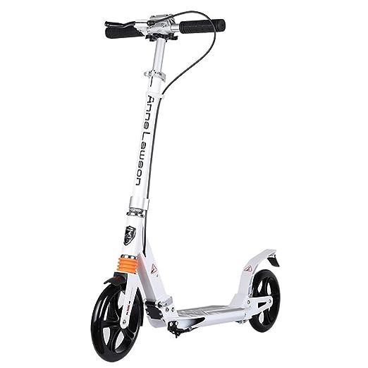 Patinete Adulto, Patinete de patín Adulto Big Wheels con ...