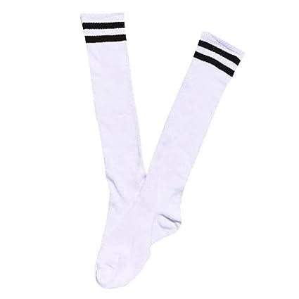 Ninos calcetines largos - TOOGOO(R)Ninos Ninos Deporte Futbol calcetines largos de alta