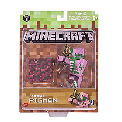 Minecraft Series 3 Wave 1 Zombie Pigman Pack by Jazwares - Import