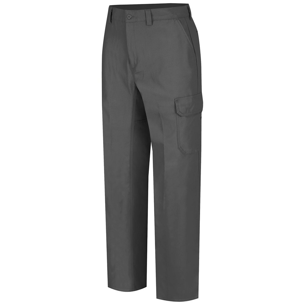 Wrangler Workwear Men's Functional Cargo Work Pant, Charcoal, 38x32