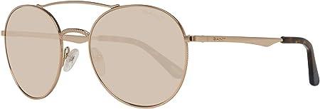 Gant Sonnenbrille Ga8058 32E 53 Gafas de sol, Dorado (Gold), 53.0 para Mujer