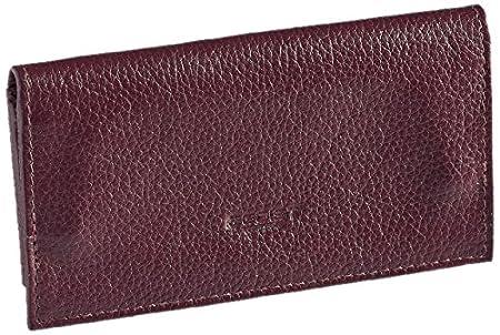 Egoist Tabaktasche, Echtleder, Reise-Accessoires, Bordeaux (Rot) - JK06036