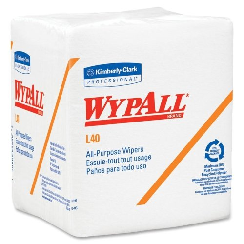 Kimberly-Clark Wypall L40 Wipes -General Purpose Wipes, 12-1/2