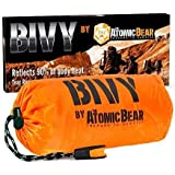 Bivy Emergency Sleeping Bag Lightweight and Compact Survival Gear Better Thermal Protection Than a Mylar Space Emergency…