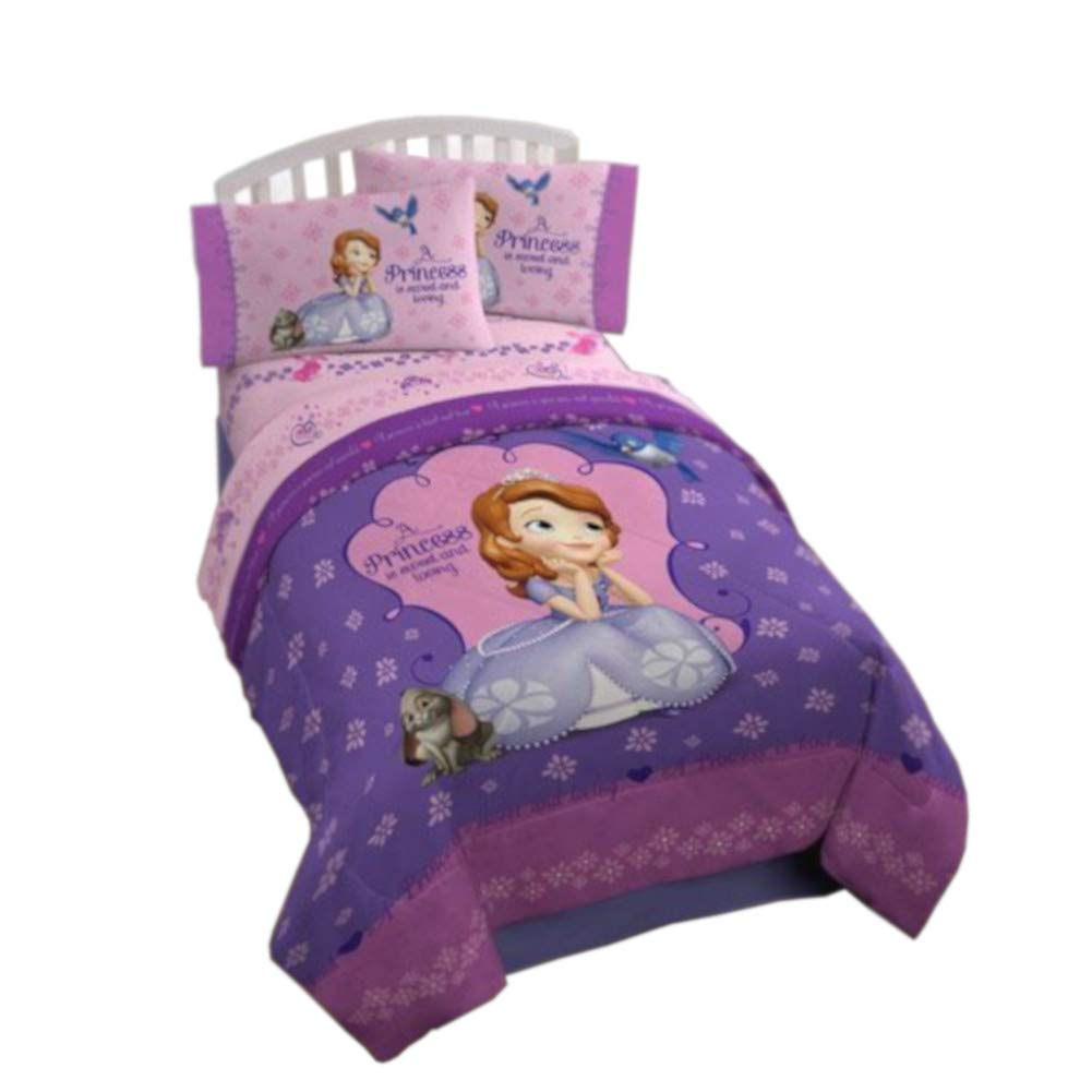 Disney Junior Sofia The First Graceful Reversible Twin Full Comforter Buy Online In Barbados At Barbados Desertcart Com Productid 21810347