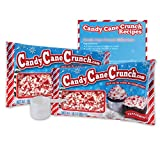 Candy Cane Crunch - 2 10 Oz Bags, 1 Plastic Scoop, and 1 Recipe Card Included