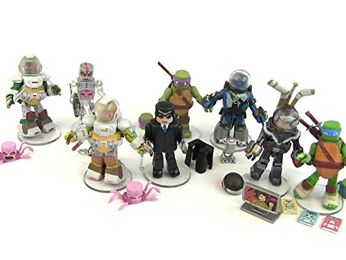 Review: Series 5 TMNT Minimates Figure Collection Review for $<!---->
