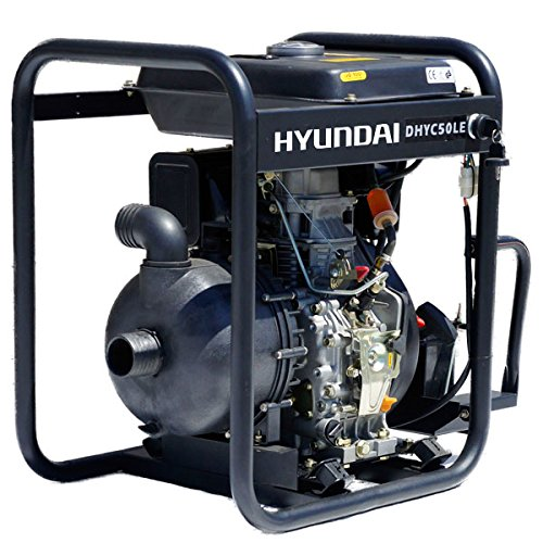 Hyundai 2 inch (50 mm) Electric Start Diesel Chemical Water Pump DHYC50LE