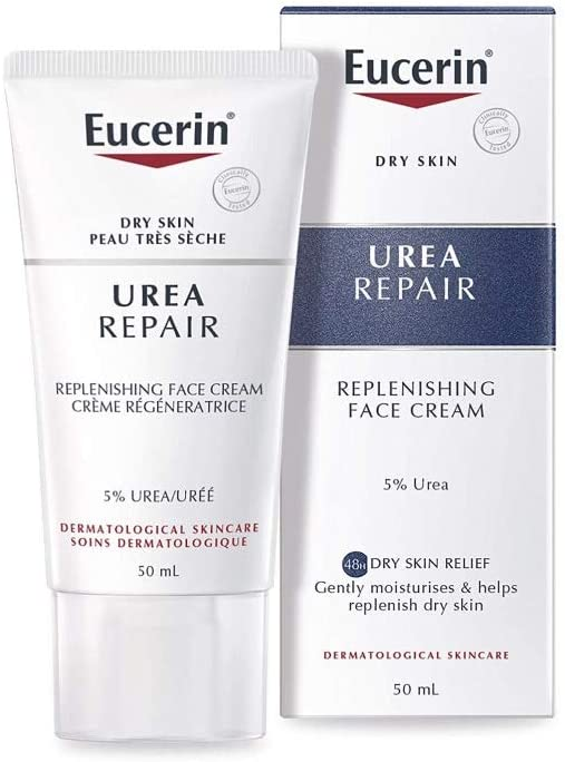 eucerin soothing face cream