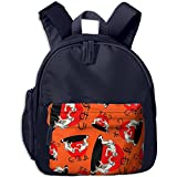 Sumo Wrestling Printed School Backpacks For Boys Girls With A Pocket Book Bag