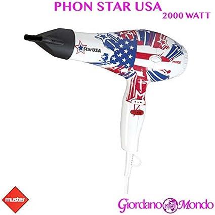 Secador Star USA Muster 2000 W Profesional para Peluquería y barbería