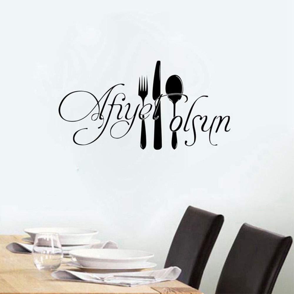 Adhesivos de pared Adornos de cocina para el restaurante de ...