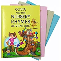 Grandson, Granddaughter Birthday Gift - A Personalized Book of Timeless Nursery Rhymes and Modern Poems - Baby Niece or Nephew Present