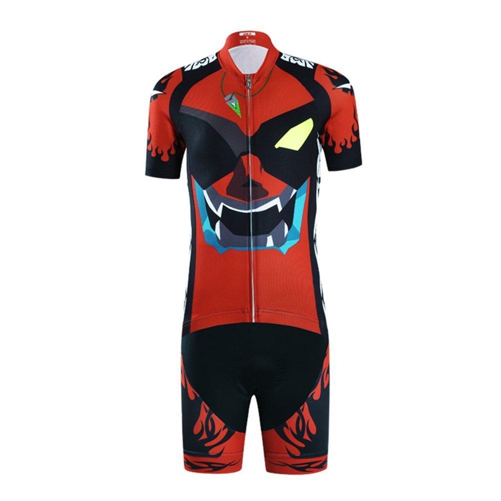 Vivi Pray Kids Cycling Jersey Set (Short Sleeve Jersey + Padded Shorts)