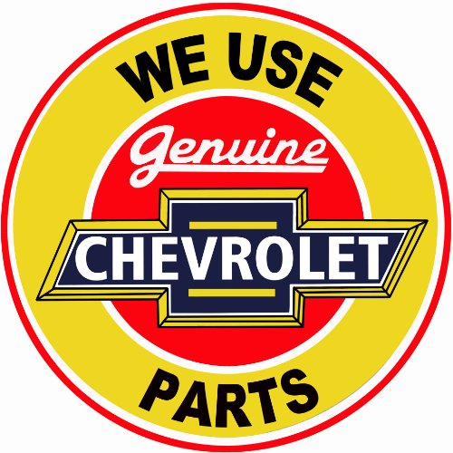 Victory Vintage Signs Extra Large Genuine Chevrolet Parts Service Station Reproduction Sign