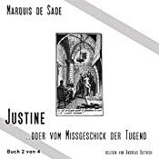 Das Leiden der Justine 2   Marquis de Sade