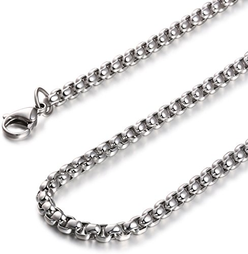 Jstyle Jewelry Womens Stainless Necklace
