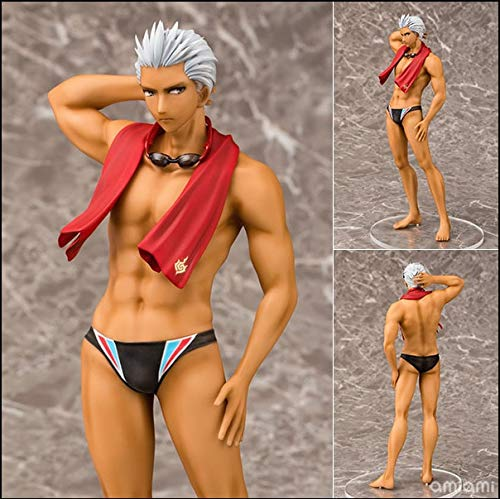 Deep Huble Fate/Stay Night Emiya Action Figure Anime Model Swimwear Emiya Dolls Decoration Collection Figurine Toys for Gifts Friend 25cm