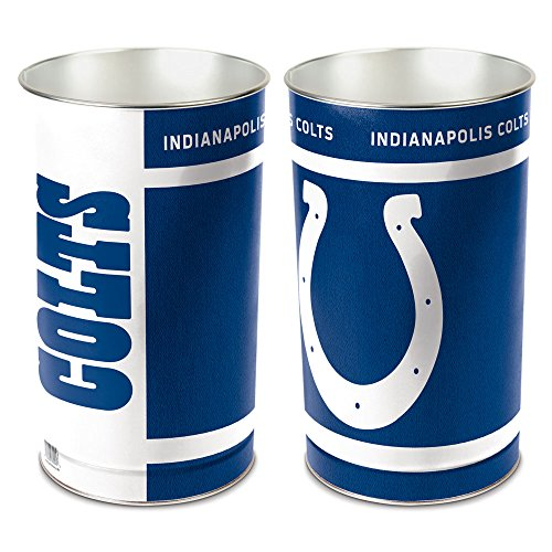 Nfl Tapered Wastebasket - WinCraft Indianapolis Colts Wastebasket