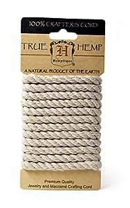 Hemp Rope 6mm 6.56 Feet/Pkg-Natural