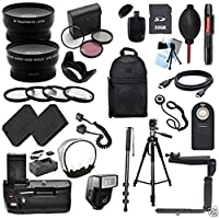 Canon EOS Rebel SL1 / 100D Digital SLR Camera Everything You Need Accessory Kit