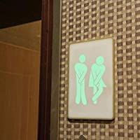 Luminescent Diy Wall Stickers Home Decor Vinyl Toilet Wallpaper