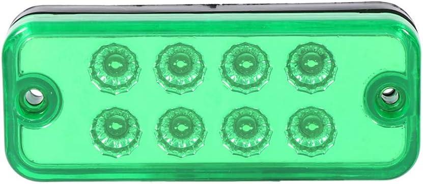 8 Feux de Position Lat/éraux /à LED Feux de Gabarit Clignotants Lat/éraux de Feu de Lampe dEclairage de Camion de Remorque VGEBY1 6pcs Feu de Position Lat/éral