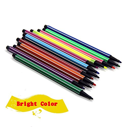 Amazon.com : Watercolor Pens, Fine Point Markers for Kids or Adult ...