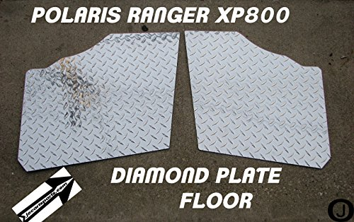 Polaris Ranger Xp800 Fullsize Custom Cut Diamond Plate Floor Boards