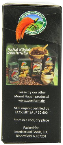 Mount Hagen Organic Instant Regular Coffee, 25-Count Single Serve packets (Pack of 4) by Mount Hagen (Image #3)