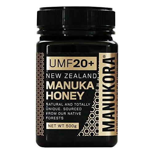 Manukora UMF 20+ (MGO829+) Manuka Honey, 500g (1.1lbs)